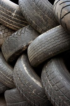 Free Old Tyre Royalty Free Stock Photo - 780525