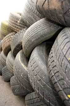 Free Old Tyre Stock Photo - 780540