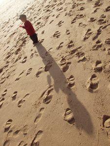 Free Child At Beach Stock Photos - 782573