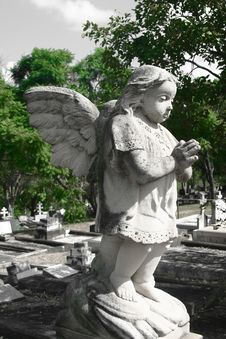 Free CHERUB GRAVE Stock Photos - 782783