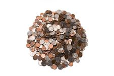 Free Big Pile Of Coins Stock Images - 784614