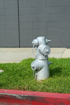 Free Fire Hydrant On Grass Royalty Free Stock Photography - 785397