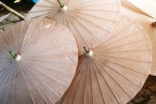Umbrella Pattern Stock Photo