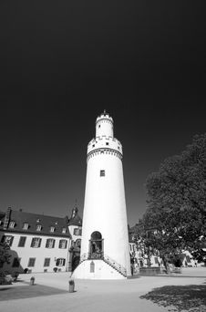 Free Bad Homburg Schloss Tower Stock Photography - 786062