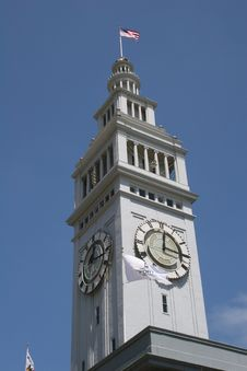 Free Clock Tower 3 Royalty Free Stock Photo - 786315