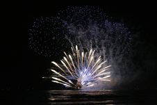 Free Fireworks In Tel-Aviv (Groupe F) Royalty Free Stock Image - 788896