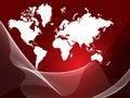 Free World Map Royalty Free Stock Photos - 7800218