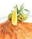 Free Soft Salt Salmon Stock Photo - 7800720