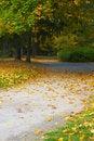 Free Autumn Alley Stock Photo - 7804450