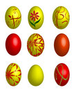 Free Colorful Easter Eggs Royalty Free Stock Photography - 7804677
