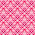 Free Pink Stripe Plaid Stock Photography - 7805492