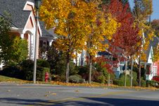 Free Colorful Neighborhood Stock Image - 7800241