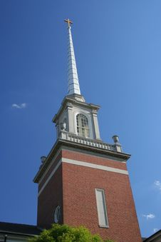 Free Church Steeple Royalty Free Stock Photography - 7800587
