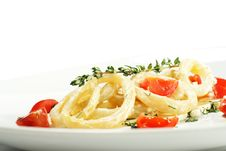 Free Salad With Calamari Rings And Tomato Royalty Free Stock Image - 7800836