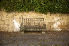 Old Bench Stock Image
