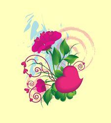 Free Valentin Flowers Stock Photo - 7801040