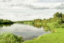 Free Spring Landscape River Stock Image - 7801121