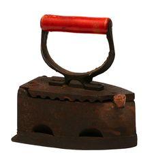 Free Old Iron Isolated Stock Image - 7801291