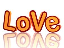 Free Love Letters 3 Royalty Free Stock Photos - 7801448