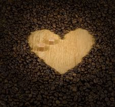 Free Coffee Heart Royalty Free Stock Image - 7801516