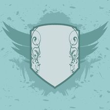 Shield Grungy Royalty Free Stock Photography