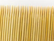 Toothpick Royalty Free Stock Photos