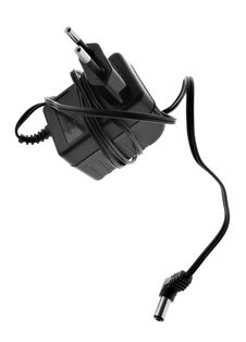 Electric Adapter Stock Photo