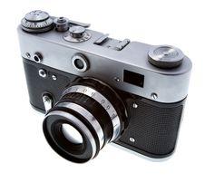 Free Old Photo Camera Royalty Free Stock Image - 7803476