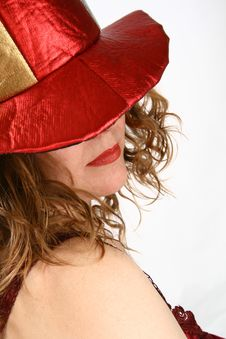 Free Red Woman Royalty Free Stock Photography - 7803697