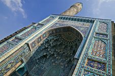 Free Minaret And Front Wall Of Mosque Royalty Free Stock Images - 7803899