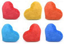 Free Set Valentines Heart Stock Image - 7804531