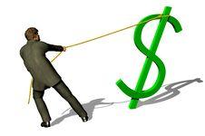 Free Hunt On Dollar Stock Image - 7805031
