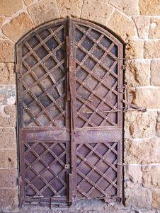 Free Old Iron Door Stock Photo - 7805190