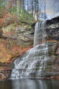 Free Autumn Waterfall Stock Photo - 7805350