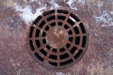 Free Manhole Cover Stock Photo - 7805500