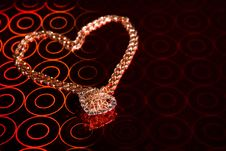 Free Pendant And Chain Stock Photo - 7805690