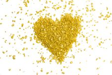 Free Golden Heart Stock Photos - 7805843