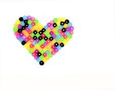 Multi-colored Heart