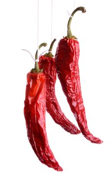 Free Dried Dhili Peppers Stock Images - 7806894