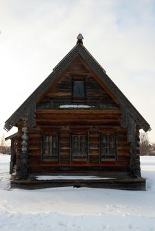 Free Old Russian House Royalty Free Stock Image - 7806956