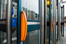 Phone Booths Royalty Free Stock Photos