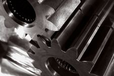 Free Gear Machinery And Steel Stock Photography - 7807102