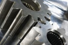 Free Gear Machinery And Steel Royalty Free Stock Image - 7807226