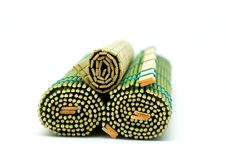 Free Bamboo Mats Royalty Free Stock Photography - 7807617