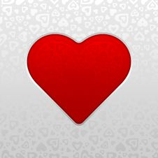 Free Red Heart Royalty Free Stock Images - 7808039