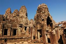 Free Bayon Temple, Cambodia Royalty Free Stock Photos - 7808088