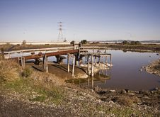 Rusty Drainage Pipe Stock Photo