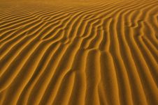 Free Desert Sand Pattern Stock Photography - 7808462