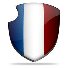 Free France Shield Stock Photo - 7808510