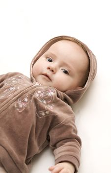Free Baby With Teddy Royalty Free Stock Photography - 7809367